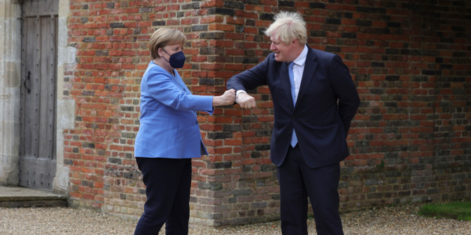 Comparing the policy narratives of Angela Merkel and Boris Johnson during the Covid-19 pandemic