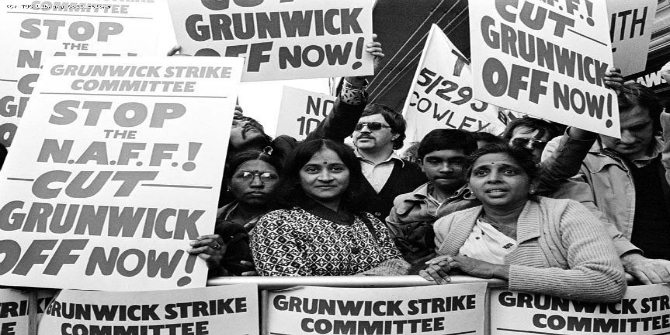 Feature Essay: Sundari Anitha and Ruth Pearson introduce Striking Women: Struggles and Strategies of South Asian Women Workers from Grunwick to Gate Gourmet