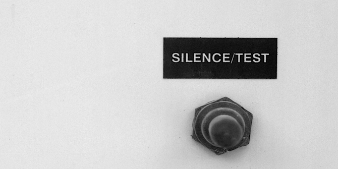 Materiality of Research: The Willingness to Listen to Silence by Francis Blore and Meghann Hillier-Broadley