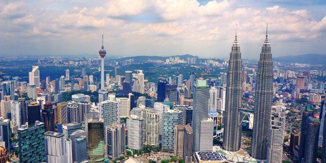 Image of the Kuala Lumpur skyline, Malaysia