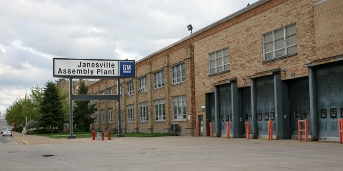 Photograph of Janesville Assembly Plant
