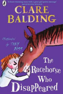 Book cover of The Racehorse Who Disappeared by Clare Balding