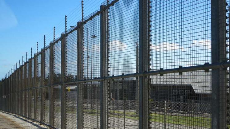 Detention Center Fencing, Christmas Island