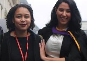 Jasmina and Riham photograph