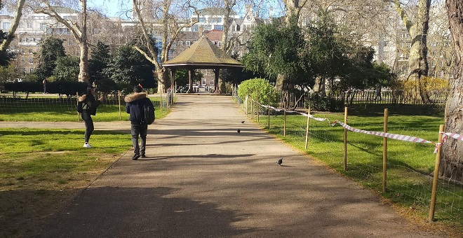 The perfect walking tour for a sunny day in London