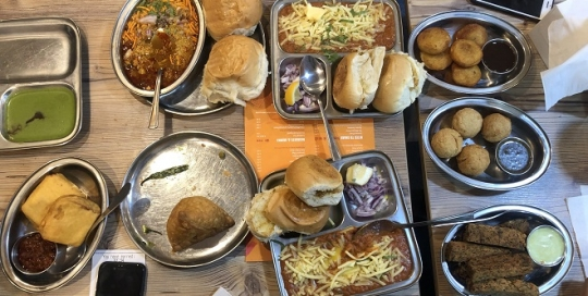 Experience different regional Indian cuisine in London