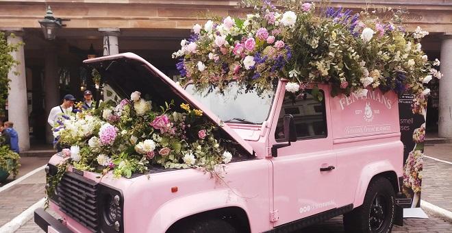 Insta-worthy: Covent Garden in Bloom Event.
