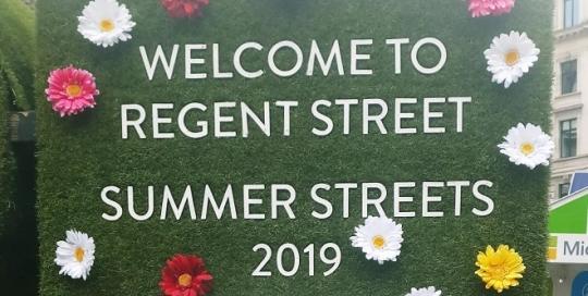 Summer Pop-Up at Regent Street