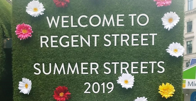 Summer Pop-Up at Regent Street