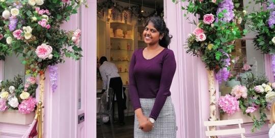 London's Floral Cafes