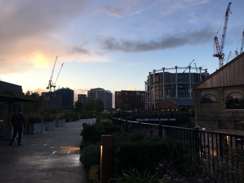 Granary Square and Coal Drops Yard