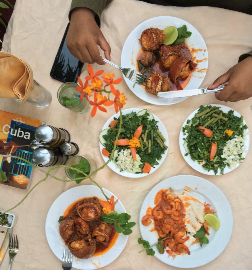 Cuba - food