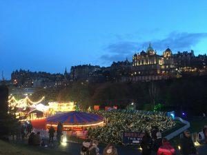 Edinburgh city scape