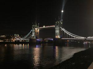 tower bridge night time