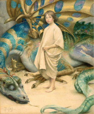 https://commons.m.wikimedia.org/wiki/File:Innocence,_c_1904,_watercolour_by_Thomas_Cooper_Gotch.jpg