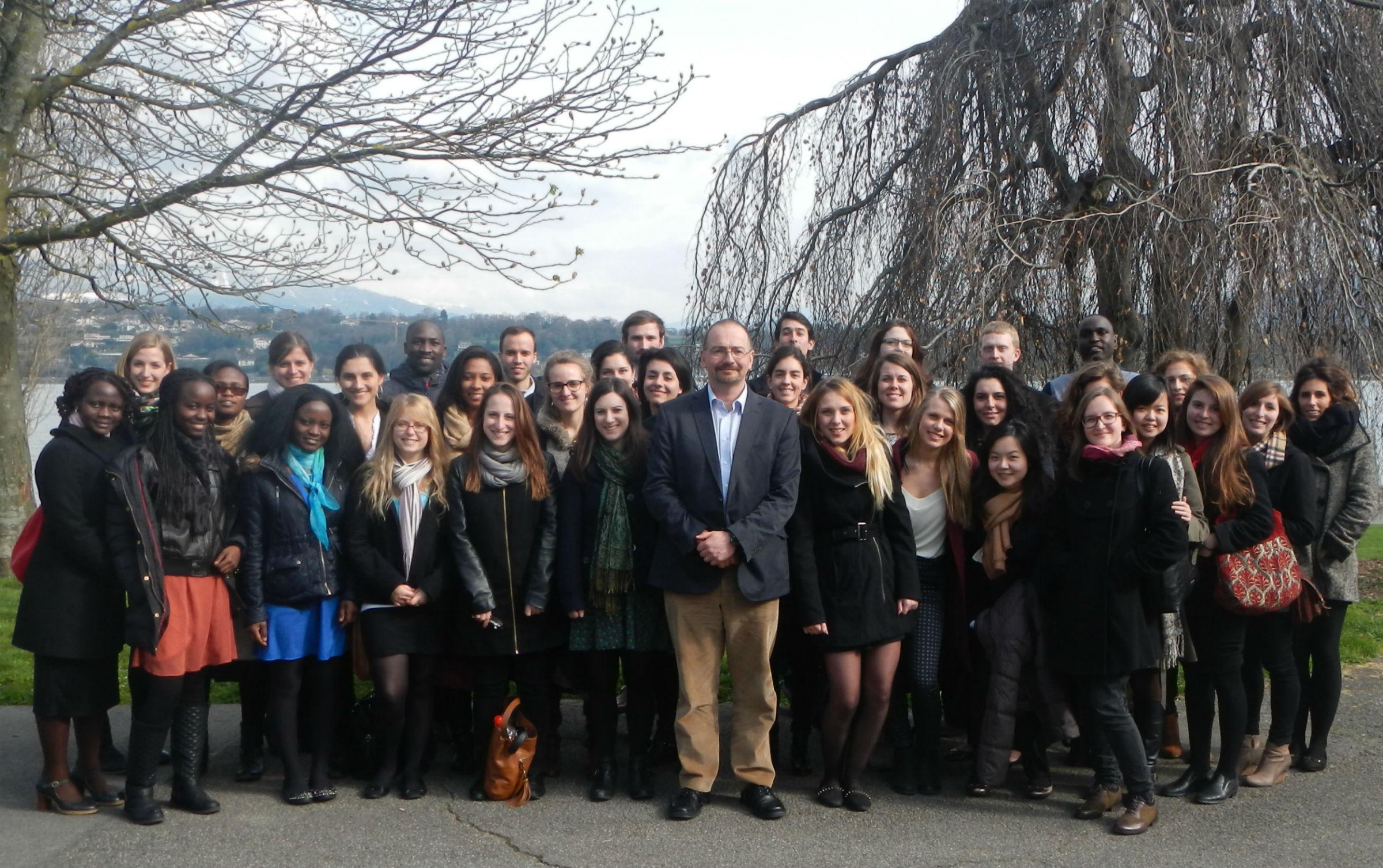 LSE IDHE students visit humanitarian organisations in Geneva