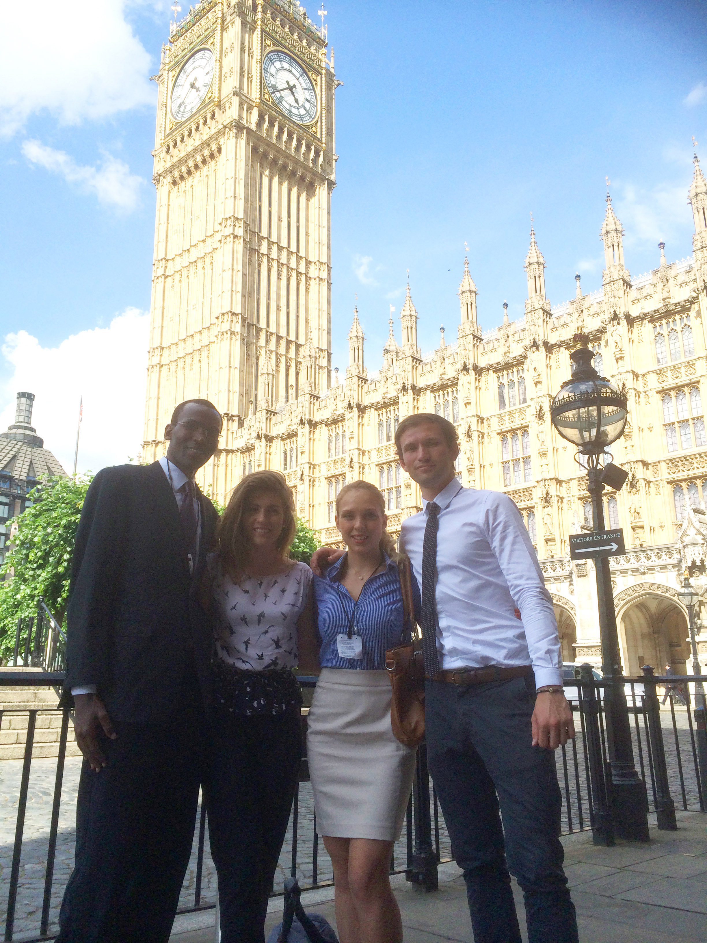 BAAG group present consultancy project at Westminster