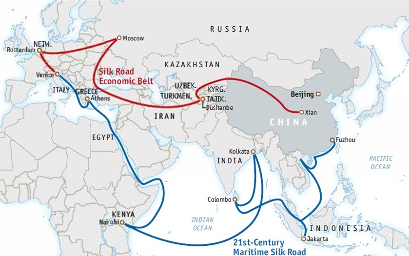 The Impact of China's One Belt One Road Initiative on Developing Countries  | LSE International Development