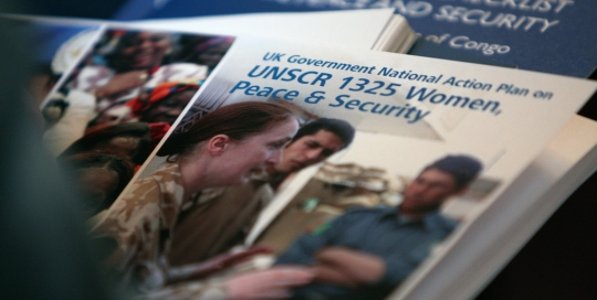 UNSCR 1325: Time to move from letter to spirit