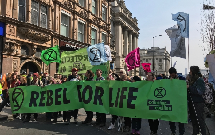 Extinction Rebellion: student perspectives by Honj Kwon and Eloise O'Carroll