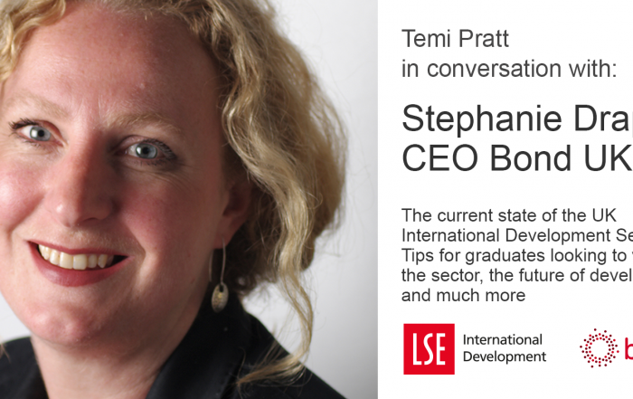 Temi Pratt in conversation with Stephanie Draper, CEO of Bond