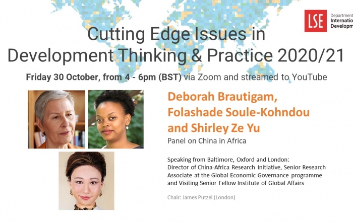 Cutting Edge Issues in Development – Panel on China in Africa