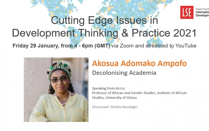 Cutting Edge Issues in Development: Decolonizing Academia