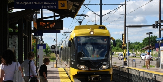 American cities with rail transit are more likely to attract well-educated young people to live centrally