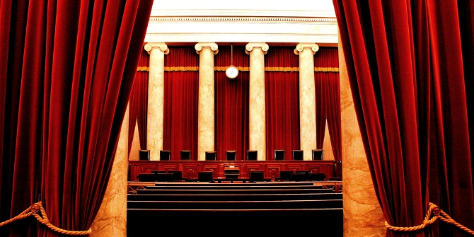 When the Supreme Court is under siege from Congress, the Chief Justice strikes down fewer laws
