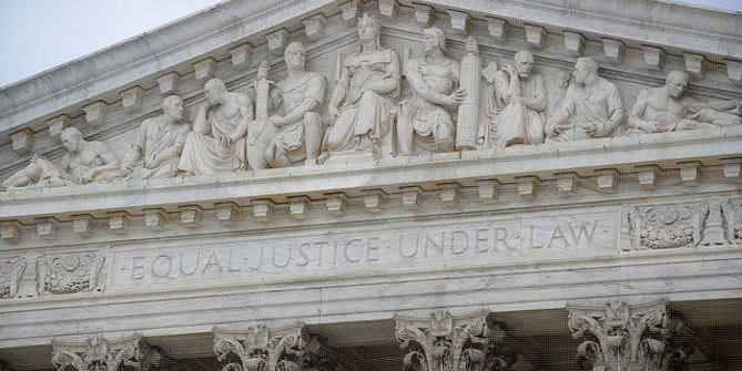 Supreme Court justices are more likely to borrow language from interest group briefs when it will go unnoticed.