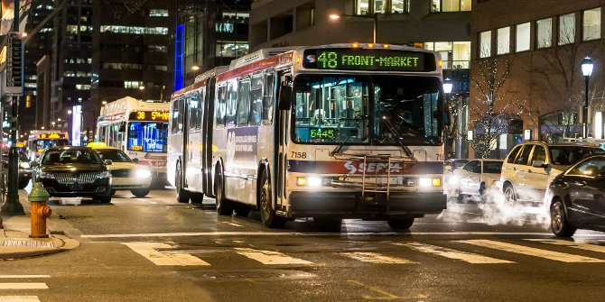 Why do transit agencies contract out services? It may be down to how managers view outsourcing.