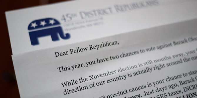 Party activists may determine the future of the Republican Party