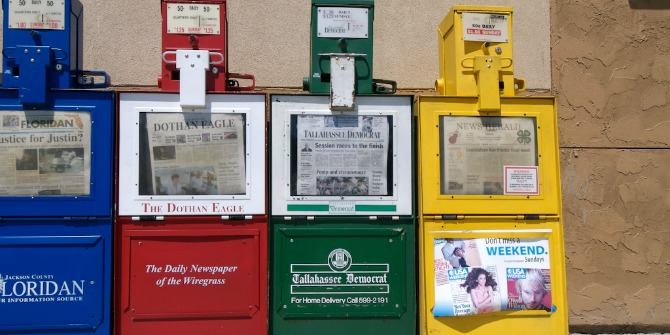 When local newspapers suffer, so do local elections