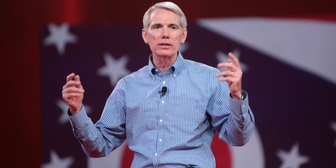 Running a traditional 'textbook' campaign, Rob Portman has a commanding lead in Ohio's Senate race, in spite of Donald Trump.