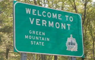 Image result for welcome sign VERMONT