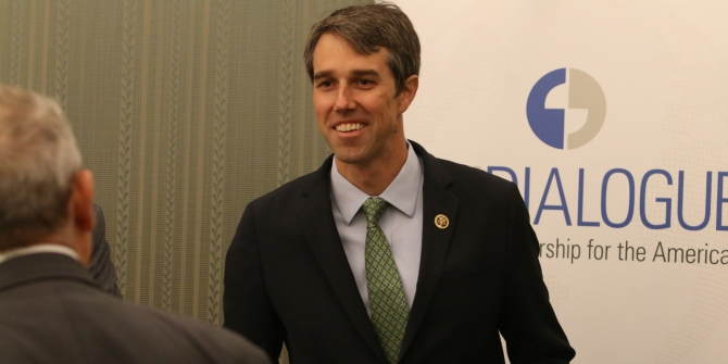 In Texas, Beto O'Rourke is staying positive in his bid to unseat Senator Ted Cruz