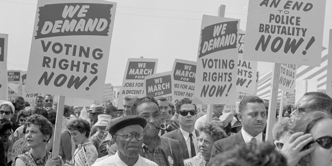 Today's voter suppression in the South can trace a line back to the Jim Crow laws and lynchings of the 19th and 20th centuries