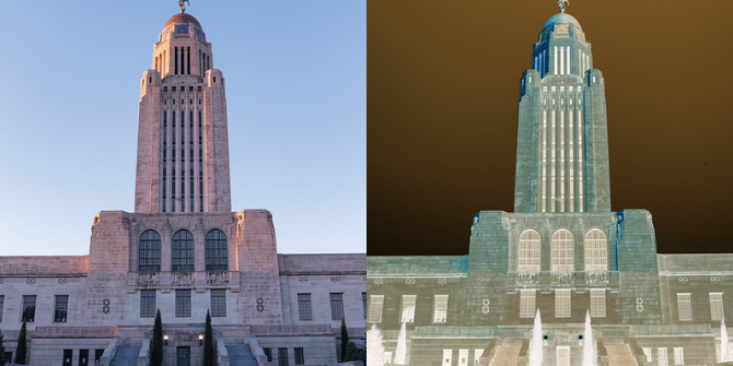 Creating a virtual Nebraska shows that eliminating a state legislative chamber doesn't help rein in spending
