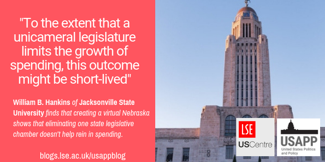 Creating A Virtual Nebraska Shows That Eliminating A State Legislative Chamber Doesn T Help Rein In Spending Usapp