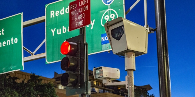 Red light cameras don't mean fewer traffic accidents, they just reshuffle what types occur.