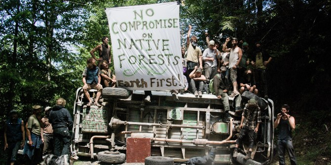 Environmental direct action may be forgiven by voters if they can see that conventional politics are not working.