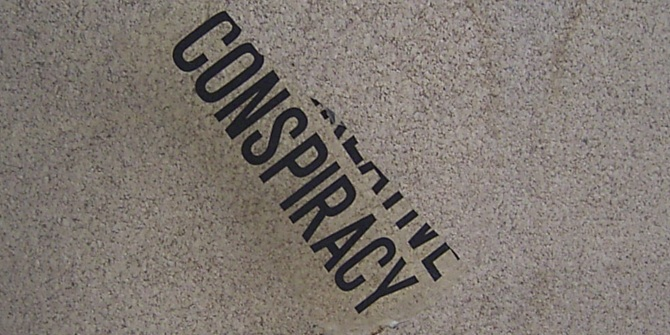People believe the government when they confirm that there has been a conspiracy