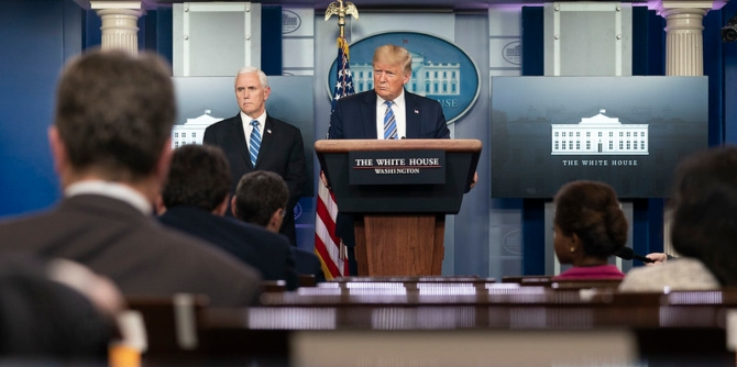 Trump's poor relationship with the media has made the US Covid-19 outbreak worse