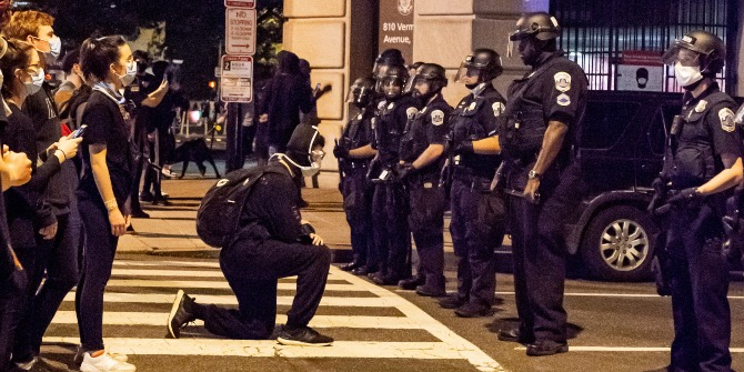 The latest #BlackLivesMatter protests highlight how American policing falls short of its charge.