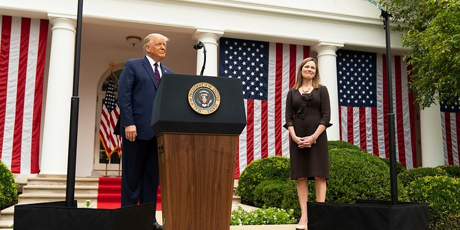 How Amy Coney Barrett's Supreme Court nomination could dominate the presidential election.