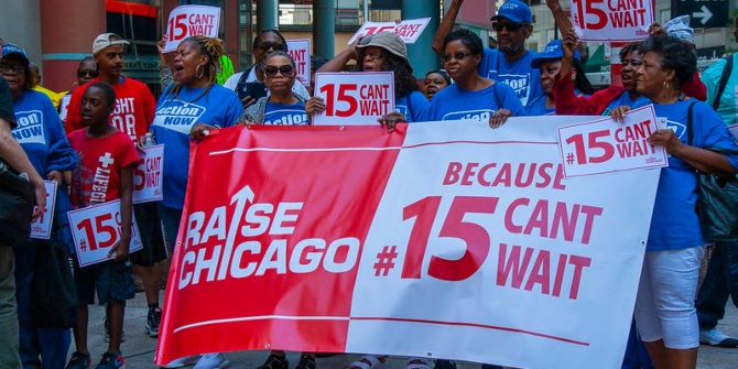 What the debate over raising the federal minimum wage to $15 tells us about US politics and society.