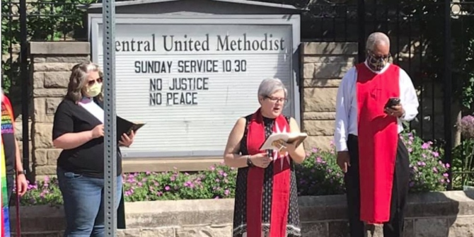 Social justice themed sermons from civic-minded clergy can push churchgoers towards greater activism to improve racial equality