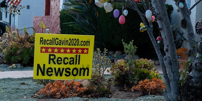 Why the results of today's California recall election could have national implications
