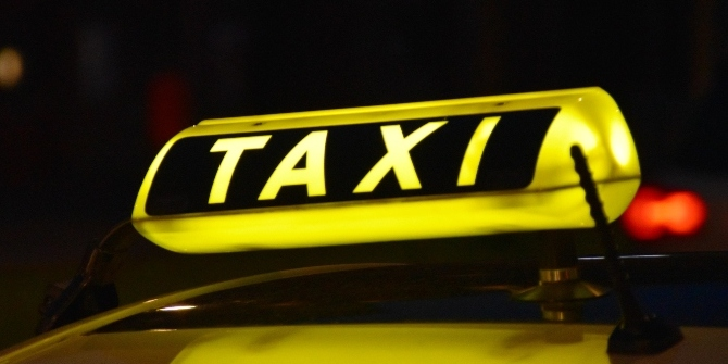 Leasing a licence to drive a taxi or giving a cut of the fares to a ride-sharing company?