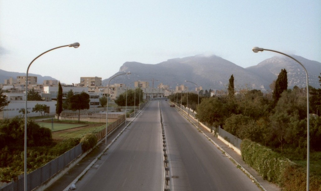 Infrastructural fragmentation in Palermo (photo from the author)